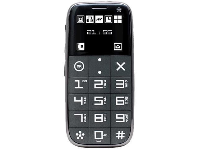 Just5 J510 Grey Unlocked GSM Cell Phone