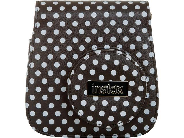 FUJIFILM Instax Mini 8 Groovy Case Black / White Polka Dot