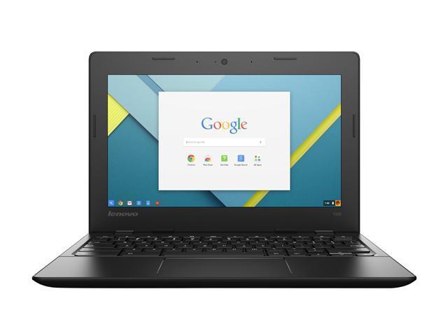 Lenovo Laptop 80S60001US Intel Celeron N3050 (1.60 GHz) 4 GB LPDDR3 Memory 32 GB HDD Intel HD Graphics 11.6