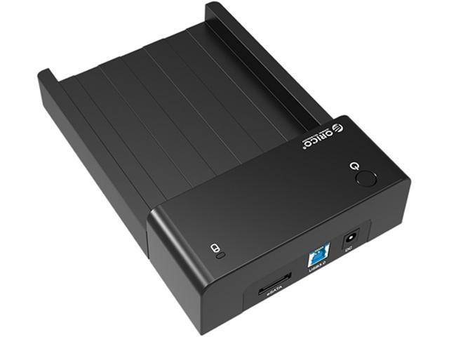 Orico 6518SUS3-BK USB3.0 & E-SATA SATA HDD Docking Station Enclosure