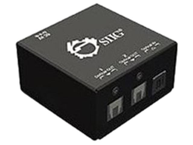SIIG 1x2 S/PDIF TOSLINK Digital Audio Splitter