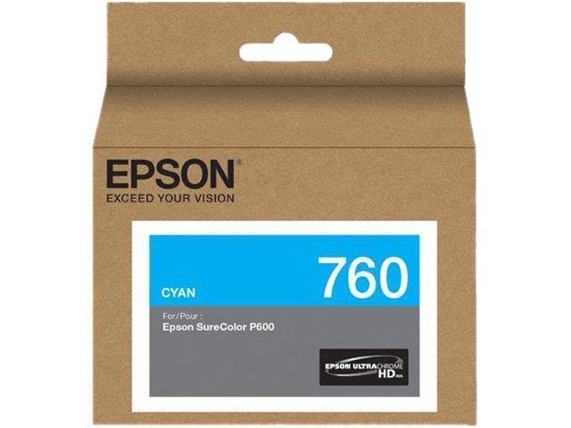EPSON 760 (T760220) Ink Cartridge; Cyan