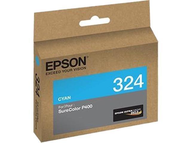 EPSON 324 (T324220) Ink Cartridge; Cyan
