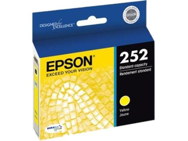 EPSON 252 (T252420-S) Ink Cartridge 300 Page Yield; Yellow