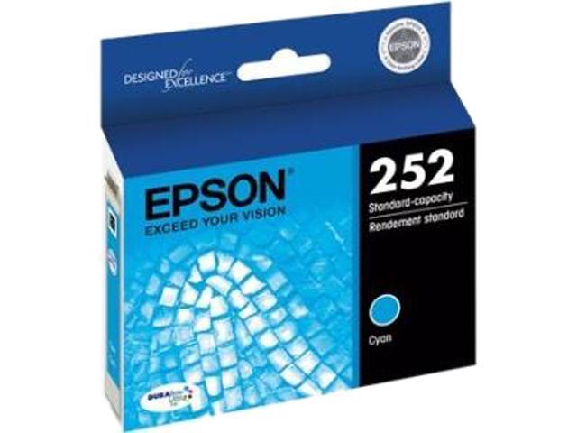 EPSON 252 (T252220-S) Ink Cartridge 300 Page Yield; Cyan