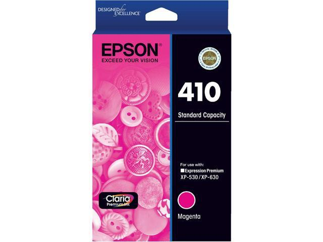 EPSON 410 (T410320-S) Ink Cartridge 3,000 Page Yield; Magenta