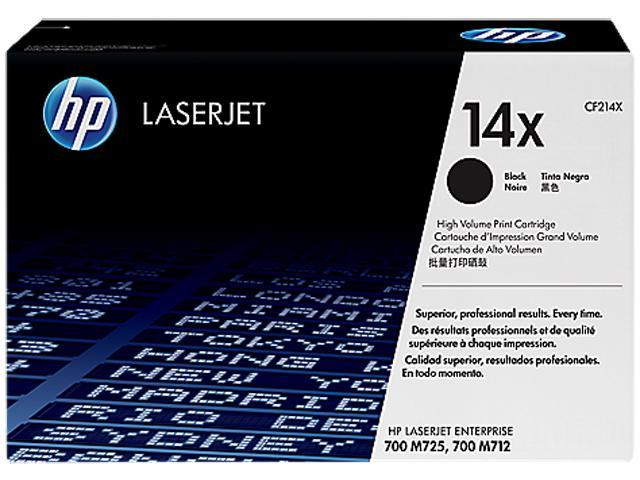 HP CF214X 14X Toner Cartridge Black