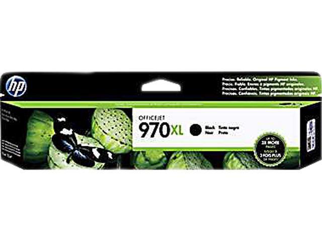 HP 970XL Ink Cartridge for OfficeJet Pro X451dn/dw, Pro X476dn/dw, Pro X551dw, Pro X576dn/dw - Black (CN625AM)