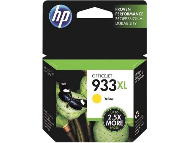 HP 933XL (CN056AN#140) Ink Cartridge 825 Page Yield; Yellow