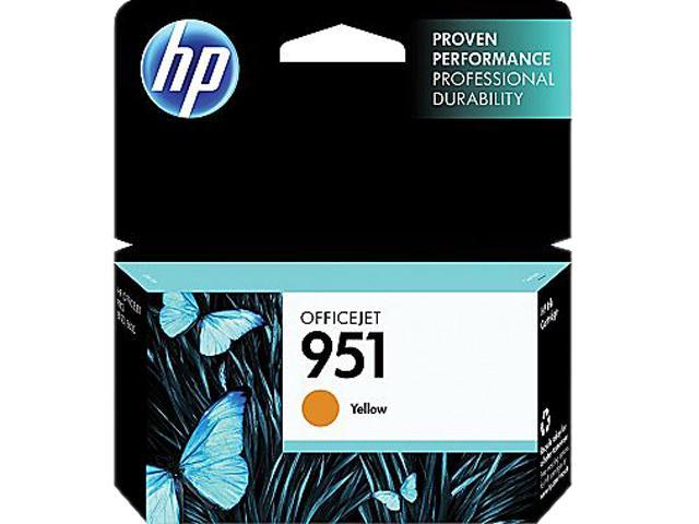 HP 951 (CN052AN#140) Ink Cartridge 700 Page Yield; Yellow