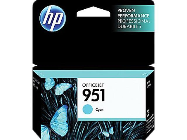 HP 951 (CN050AN#140) Ink Cartridge 700 Page Yield; Cyan