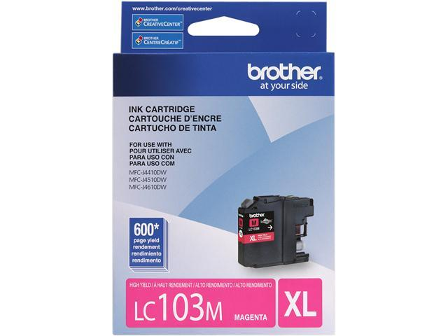 brother Innobella LC103M High Yield (XL Series) Ink Cartridges Magenta