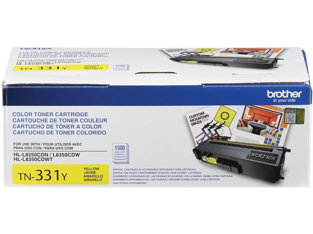 Brother TN331Y Standard Yield Toner Cartridge Yellow