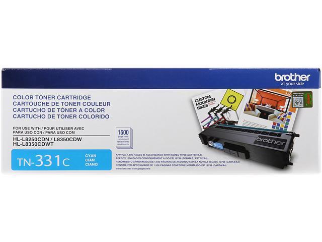 Brother TN331C Standard Yield Toner Cartridge Cyan