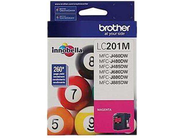 Brother LC201MS Ink Cartridge 260 pages yield; Magenta