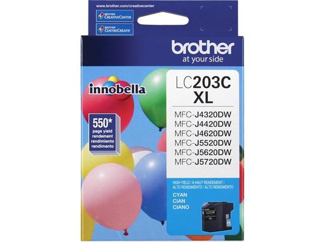brother LC203CS Ink Cartridge 550 Page Yield; Cyan