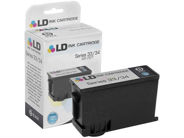 Dell KVH6V/KNTYH High Yield Ink Series Cartridge (Dell# Series 33 R) 700 Pages Yield; Black