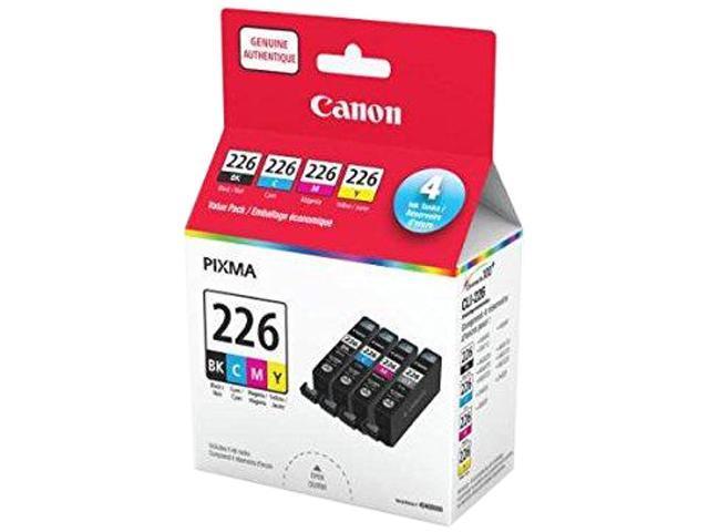 Canon CLI-226 (4546B008AA) Ink Cartridge; Black, Cyan, Magenta, Yellow