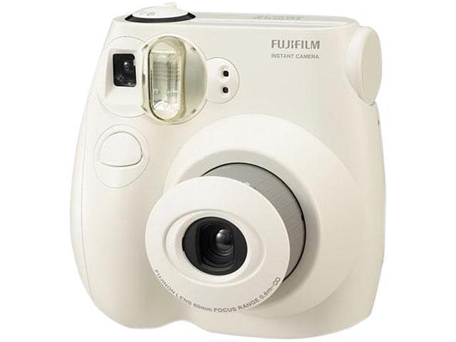 Fujifilm 16162434 Instax Mini 7s White Camera