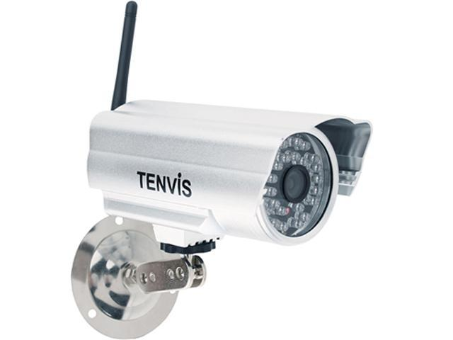 TENVIS IP602W Outdoor Day/Night w/ 30 IR LEDs Motion Detection Wireless IP Camera