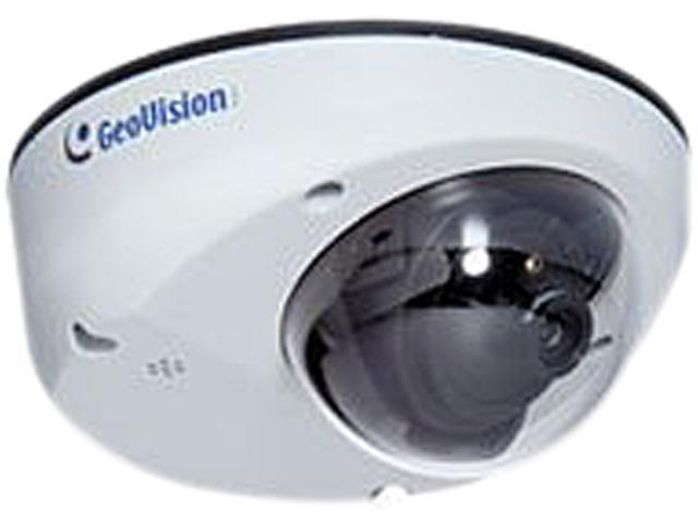 GeoVision GV-MDR220 5.0MP H.264 Mini Fixed Rugged IP Dome Camera (Fixed Lens)