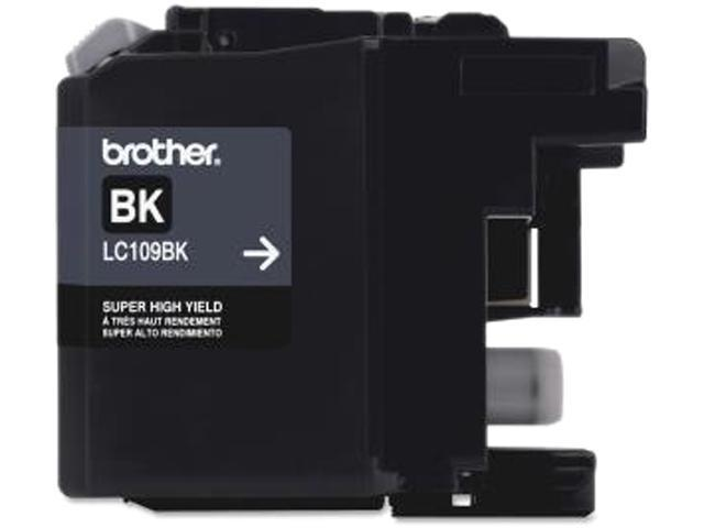 Brother LC109BKS Ink Cartridge 2400 pages yield; Black