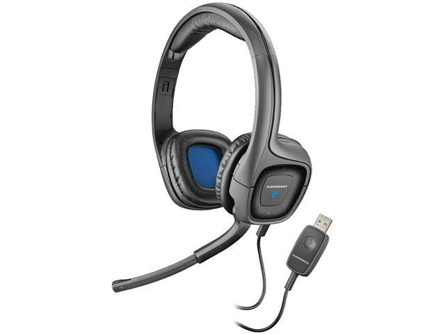 Plantronics .Audio 655 DSP USB Stereo Wired Headsets with Noise Cancelling Microphone