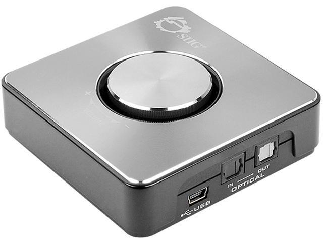 SIIG HD Digital 7.1 USB Audio Box