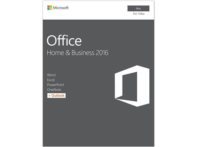 Microsoft Office Home and Business 2016 for MAC - English