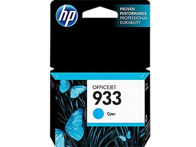 HP 933 (CN058AN#140) Ink Cartridge 330 Page Yield; Cyan