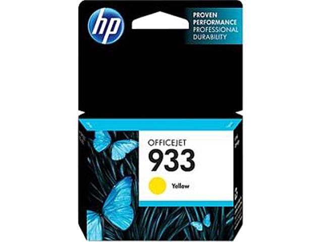 HP 933 (CN060AN#140) Ink Cartridge 330 Page Yield; Yellow