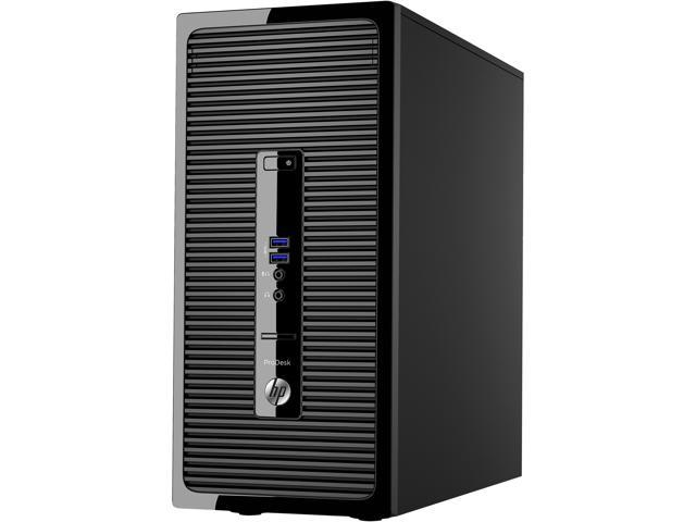 HP Desktop PC ProDesk 400 G3 (V0C44UT#ABA) Intel Core i3 6th Gen 6100 (3.70 GHz) 4 GB DDR4 500 GB HDD Intel HD Graphics 530 Windows 7 Professional 64-Bit (available through downgrade rights from Windo