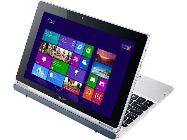 Acer Aspire Switch 10 SW5-012-19RC Laptop Intel Atom Z3735F 1.33 GHz 2 GB DDR3L 32 GB Flash memory Intel HD Graphics 10.1