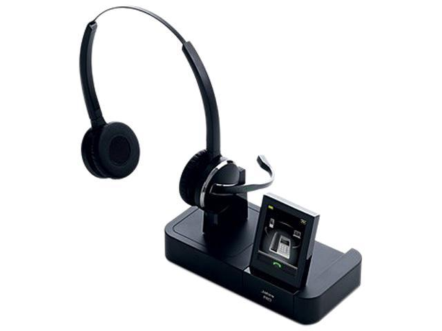 Jabra PRO 9465 Duo Wireless Headset with Touchscreen Display