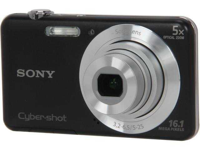 Sony DSC-W710/B 16 MP Digital Camera with 2.7-Inch LCD (Black)