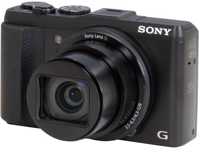 SONY Cyber-shot HX50V DSC-HX50V/B Black 20.4 MP Digital Camera HDTV Output