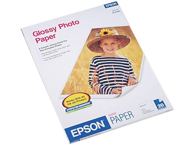 Epson S041141 Photo Paper For Inkjet Print - Letter - 8.50