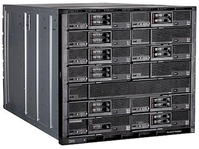 IBM 8721A1U 10U Rackmount Flex System Enterprise Chassis 8721 up to 14 blades