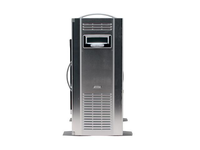 Titan Water case TWC-A88 Silver Aluminum ATX Mid Tower Computer Case