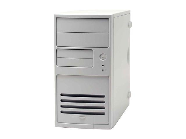 IN WIN IW-V508T2.J350L White Steel MicroATX Mini Tower Computer Case 350W Power Supply - OEM