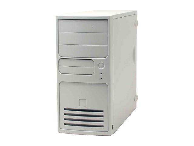 IN WIN IW-S508T2.J350L White Steel ATX Mid Tower Computer Case 350W Power Supply - OEM