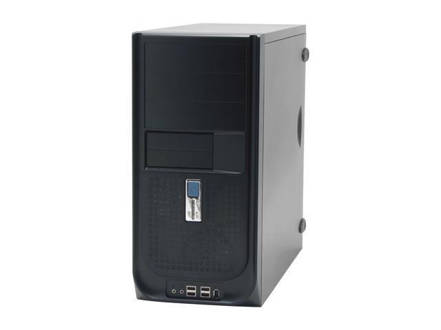 IN WIN IW-S605T2.J350BL Black Steel ATX Mid Tower Computer Case 350W Power Supply
