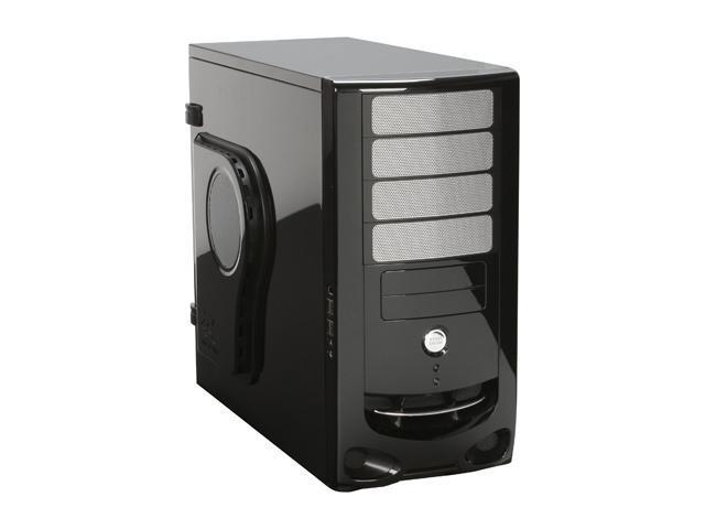 IN WIN IW-F430.BL Black 0.8mm SECC/ Japanese Steel ATX Mid Tower Computer Case