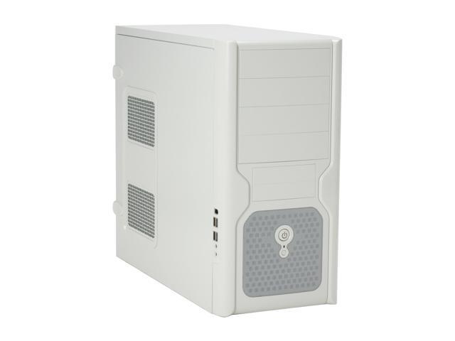 IN WIN IW-J619T2.J350L+ Beige SECC ATX Mid Tower Computer Case 350W Power Supply