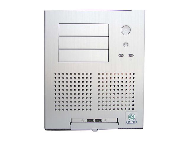 LIAN LI PC-65 USB B2 Silver Aluminum ATX Mid Tower Computer Case