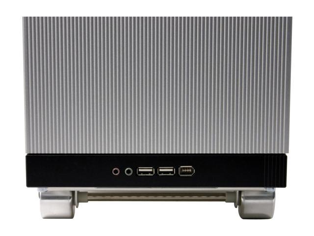 LIAN LI V SILENT PC-V1100 Silver Aluminum ATX Mid Tower Computer Case
