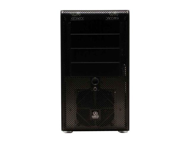 LIAN LI PC-V600B Black Aluminum ATX Mid Tower Computer Case