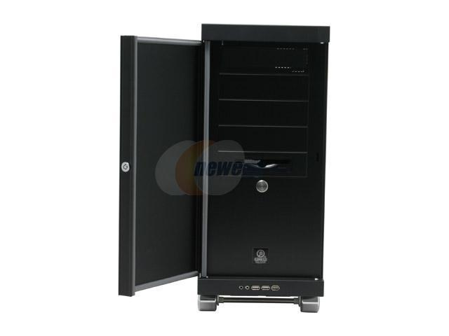 LIAN LI PC-V1100BPlus II Black Aluminum ATX Mid Tower Computer Case