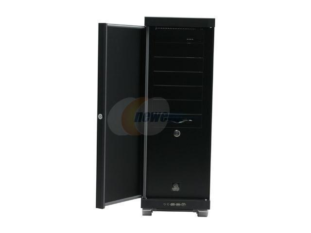 LIAN LI PC-V2100BPlus II Black Aluminum ATX Full Tower Computer Case