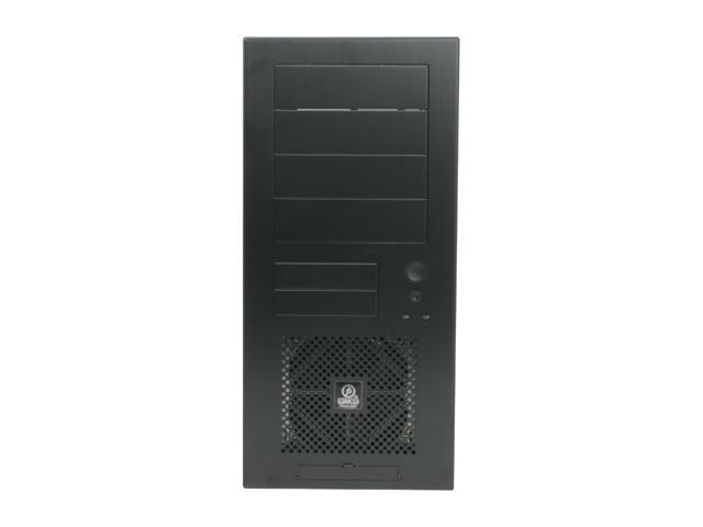 LIAN LI PC-60BPLUSII Black Aluminum ATX Mid Tower Computer Case